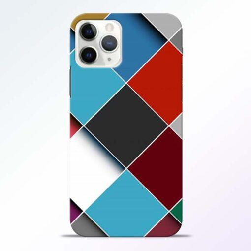 Square Check iPhone 11 Pro Max Back Cover