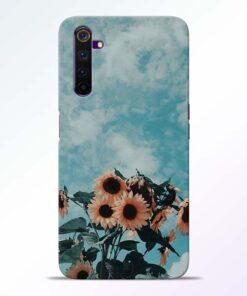 Sun Floral Realme 6 Back Cover