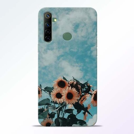 Sun Floral Realme 6i Back Cover