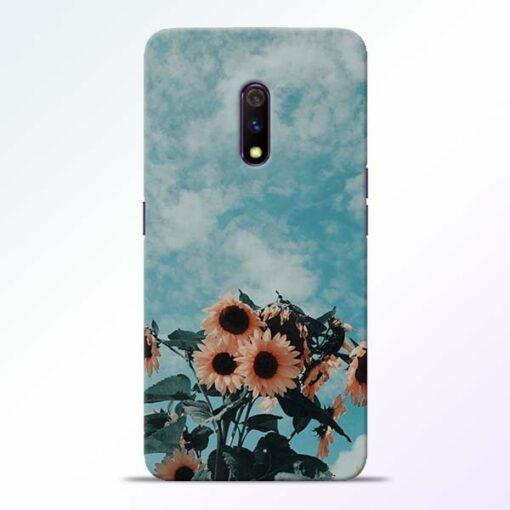Sun Floral Realme X Back Cover