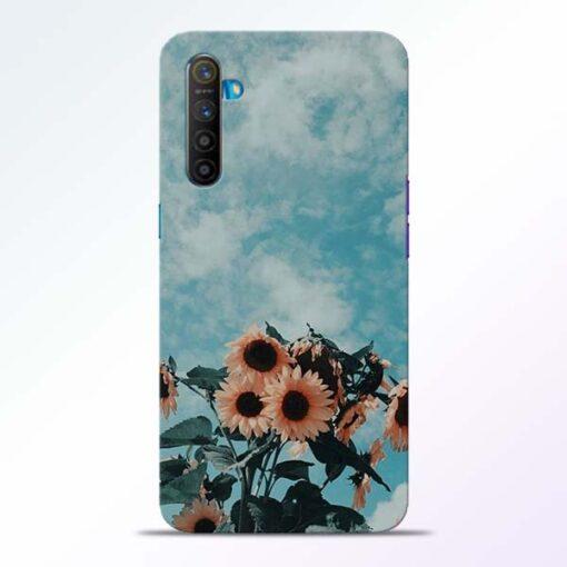 Sun Floral Realme XT Back Cover