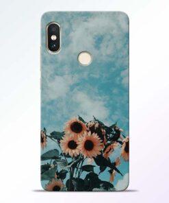 Sun Floral Redmi Note 5 Pro Back Cover