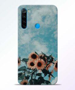 Sun Floral Redmi Note 8 Back Cover