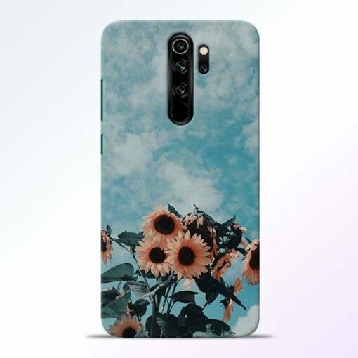 Sun Floral Redmi Note 8 Pro Back Cover