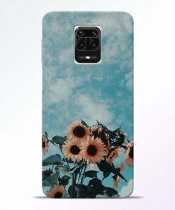 Sun Floral Redmi Note 9 Pro Max Back Cover