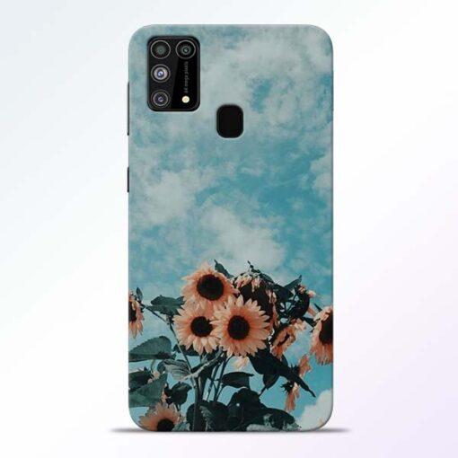 Sun Floral Samsung Galaxy M31 Back Cover