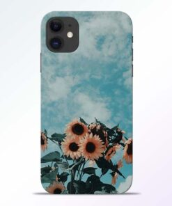 Sun Floral iPhone 11 Back Cover