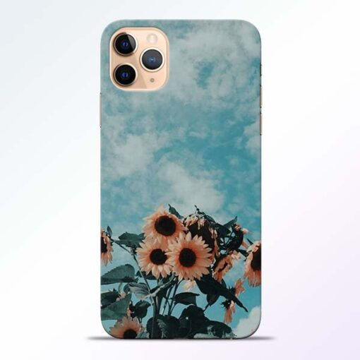 Sun Floral iPhone 11 Pro Back Cover