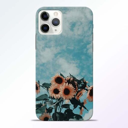 Sun Floral iPhone 11 Pro Max Back Cover