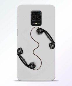 Two Phone Redmi Note 9 Pro Back Cover
