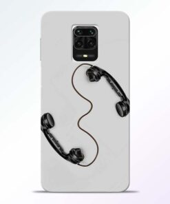 Two Phone Redmi Note 9 Pro Max Back Cover