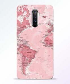 World Map Realme X2 Pro Back Cover