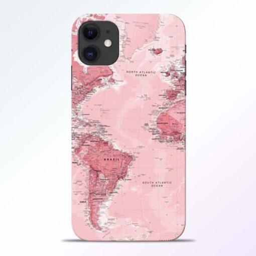 World Map iPhone 11 Back Cover