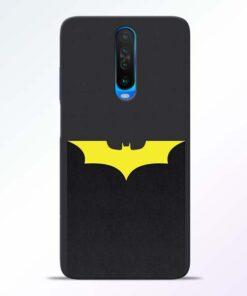 Yellow Bat Poco X2 Back Cover