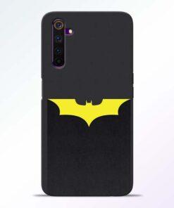 Yellow Bat Realme 6 Back Cover