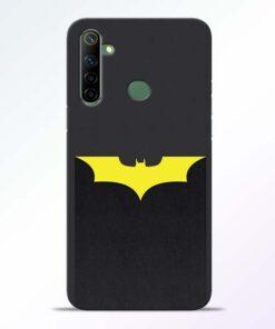 Yellow Bat Realme 6i Back Cover
