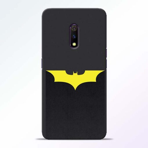 Yellow Bat Realme X Back Cover