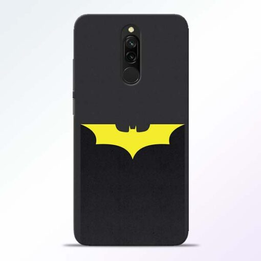 Yellow Bat Redmi 8 Back Cover
