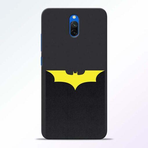 Yellow Bat Redmi 8A Dual Back Cover