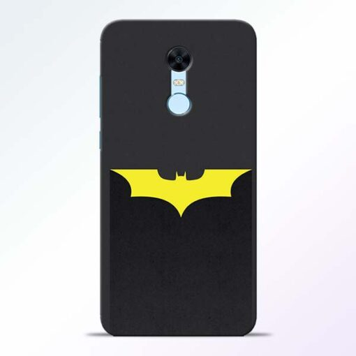 Yellow Bat Redmi Note 5 Back Cover