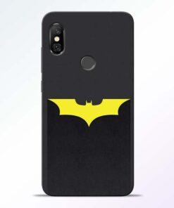 Yellow Bat Redmi Note 6 Pro Back Cover