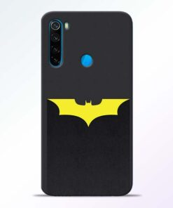 Yellow Bat Redmi Note 8 Back Cover