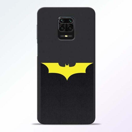 Yellow Bat Redmi Note 9 Pro Back Cover