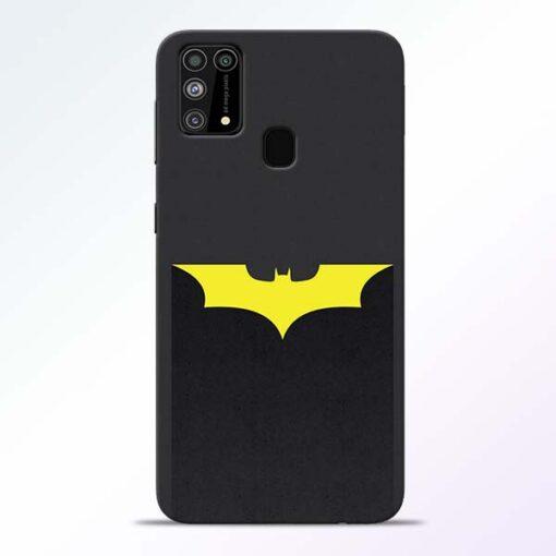 Yellow Bat Samsung Galaxy M31 Back Cover