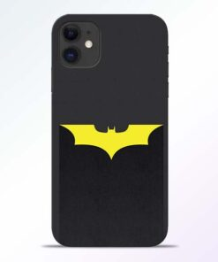 Yellow Bat iPhone 11 Back Cover