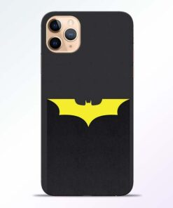Yellow Bat iPhone 11 Pro Back Cover