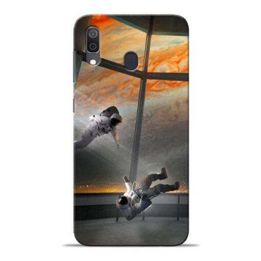 Astronaut Samsung Galaxy A30 Back Cover
