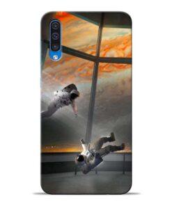 Astronaut Samsung Galaxy A50 Back Cover