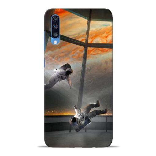Astronaut Samsung Galaxy A70 Back Cover