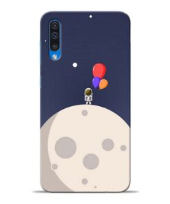 Astronout Space Samsung Galaxy A50 Back Cover