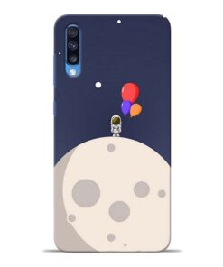 Astronout Space Samsung Galaxy A70 Back Cover