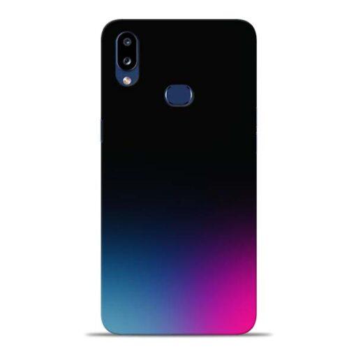 Black Aura Samsung Galaxy A10s Back Cover