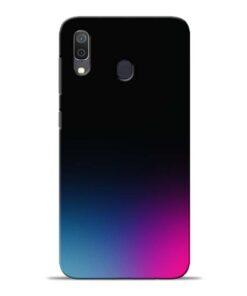 Black Aura Samsung Galaxy A30 Back Cover