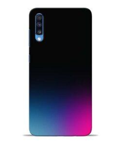 Black Aura Samsung Galaxy A70 Back Cover