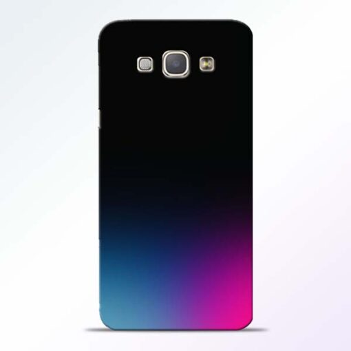 Black Aura Samsung Galaxy A8 2015 Back Cover