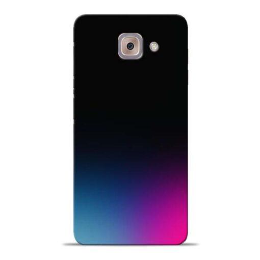Black Aura Samsung Galaxy J7 Max Back Cover