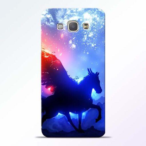 Black Horse Samsung Galaxy A8 2015 Back Cover