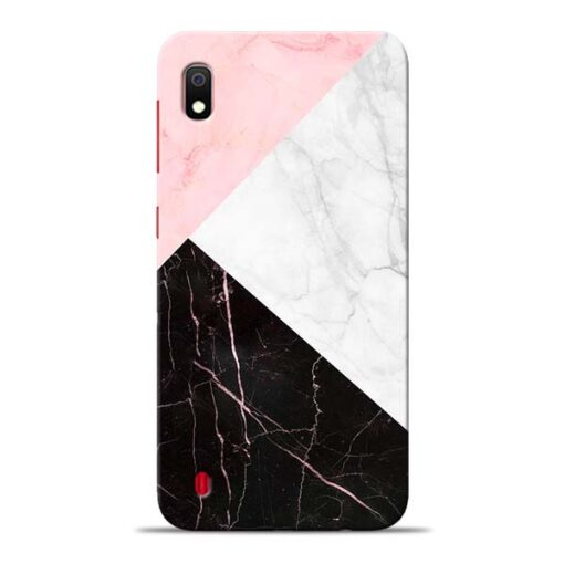 Black Marble Samsung Galaxy A10 Back Cover