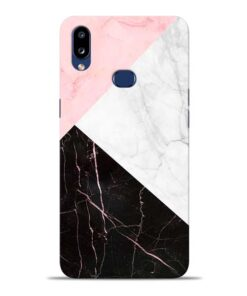 Black Marble Samsung Galaxy A10s Back Cover