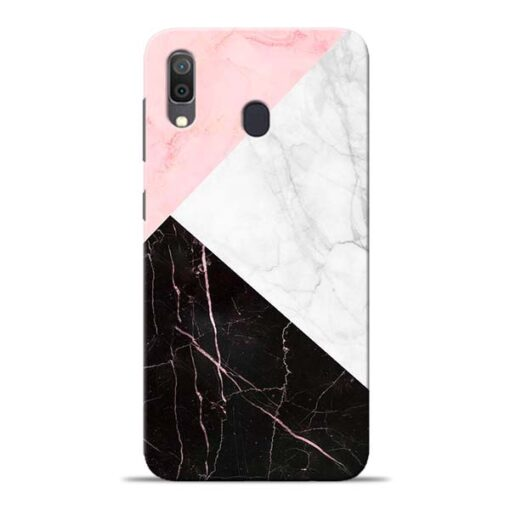 Black Marble Samsung Galaxy A30 Back Cover