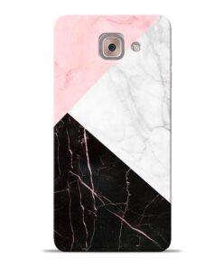 Black Marble Samsung Galaxy J7 Max Back Cover