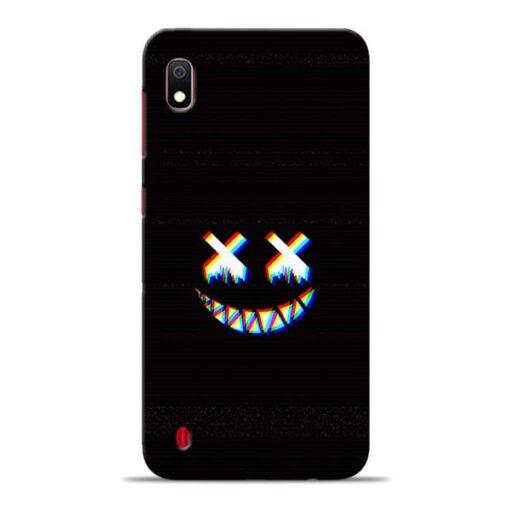Black Marshmallow Samsung Galaxy A10 Back Cover