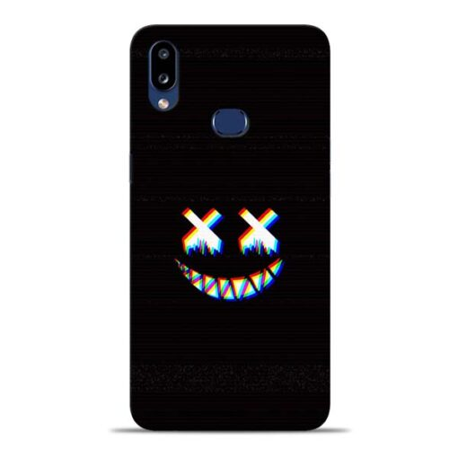 Black Marshmallow Samsung Galaxy A10s Back Cover
