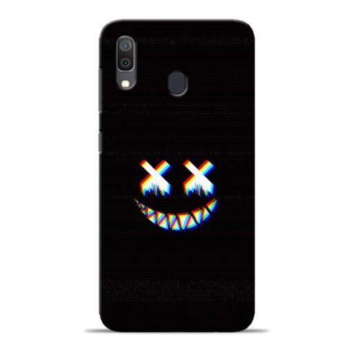 Black Marshmallow Samsung Galaxy A30 Back Cover