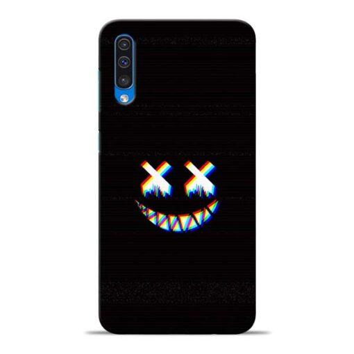 Black Marshmallow Samsung Galaxy A50 Back Cover