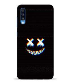 Black Marshmallow Samsung Galaxy A70 Back Cover